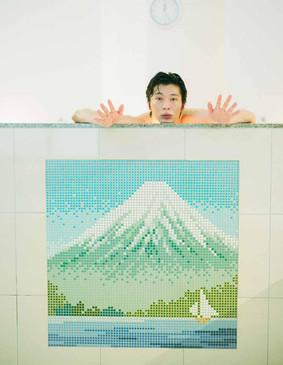 銭湯と和菓子と田中圭(仮)