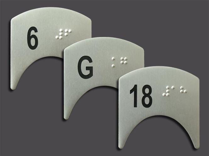 Etiquetas Braile