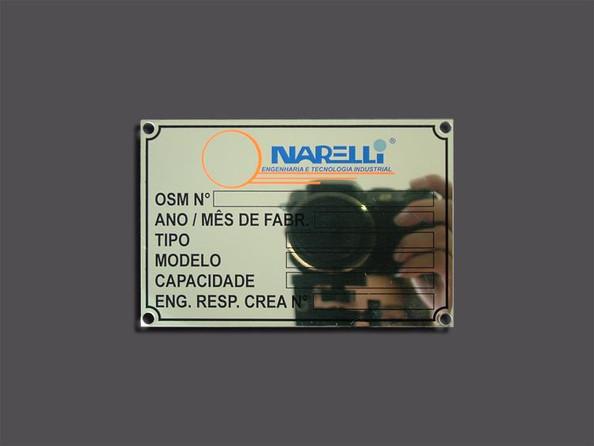 Etiquetas em Aço Inóx
