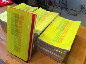 design for Suprasensorial exhibition catalog