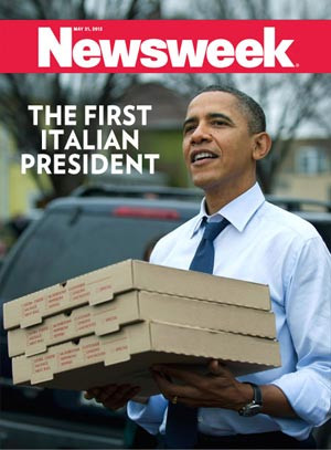 "Newsweek:""The first Italian president"""