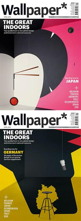 Wallpaper* gets the great Noma Bar to do his first 3D pieces.