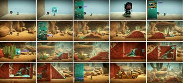 Sackboy is an avatar, the virtual proxy for the flesh-and-blood designer who directs his actions.