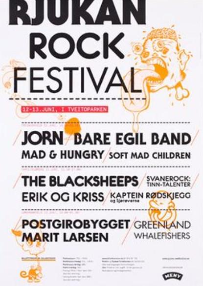 Your Friends, Rjukan Rock Festival