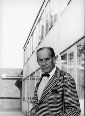 Walter Gropius, in 1955