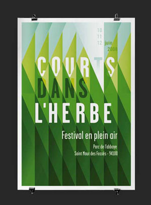 A poster for an outdoor festival at Abbey Park.