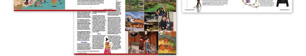Ensemble Travel Magazine Spreads