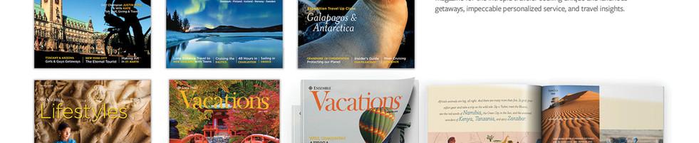 Ensemble Travel Magazines