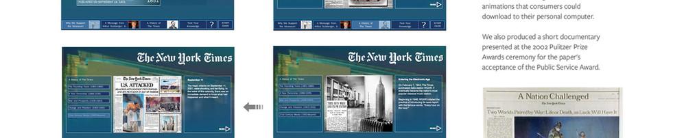 NY Times Newseum Interactive Kiosk, DC