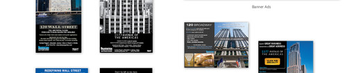 Silverstein Properties Commercial Leasing Ads