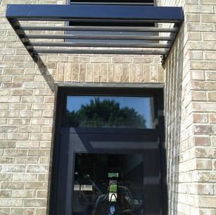Sunshade Installation
