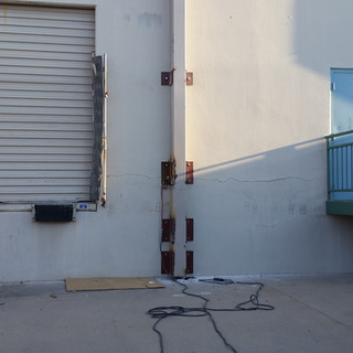 Welding Plates For New Beams - Fort Worth,Tx