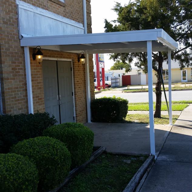 Church Entry Canopy - Fort Worth,Tx