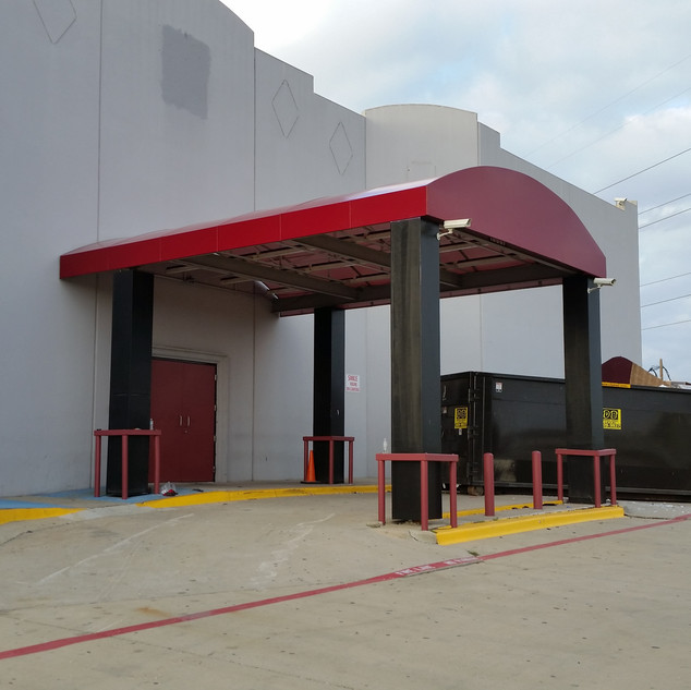 Loading Dock Vinly Awning - Dallas,Tx