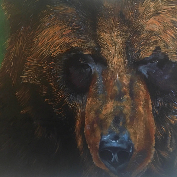 Bear Spirit; the grounding force of strength and confidence against adversity
