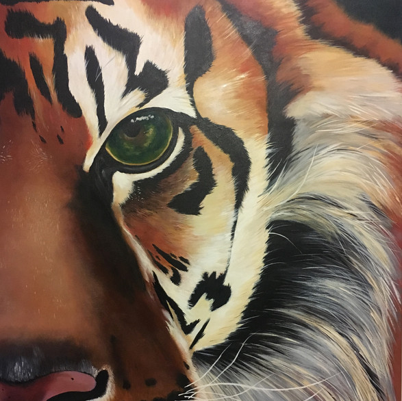 Your Guardian; a tiger symbolizing courage, confidence and luck.