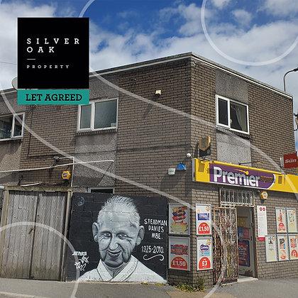 Let Agreed -First Floor Flat, Corner House, Coldstream Street, Llanelli SA15 3BG