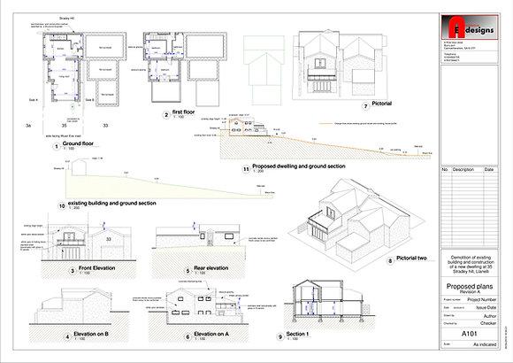 Plot @ 35 Stradey Hill Llanelli SA15 4AB