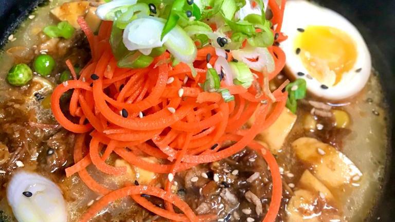 Spicy Tofu Pork Ramen