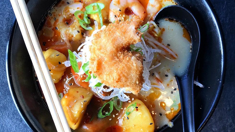 Curry Shrimp Ramen