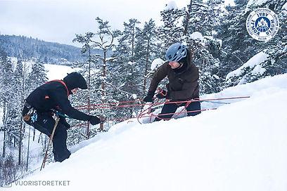 Jäätikkökurssi_Nuuksio_Vuoristoretket