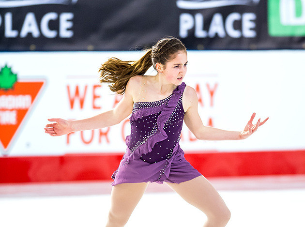 National Silver for Kelowna Skater Emma Bulawka