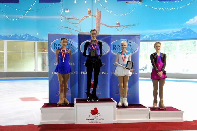 Kelowna Skating Club's Daria Carr takes provincial title
