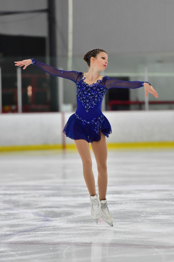 Olivia Gran skates to second place for Canada