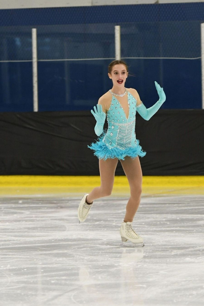 Five local skaters qualified for next month's Nationals at Vancouver