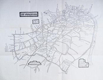 Vrindava Parikrama Map