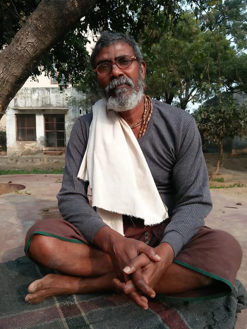 Bhagwat Niwas Sant Darshan Vrindavan