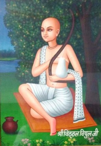 Shri Vitthal Vipul Ji Goswami Ji, Shri Bankey Bihari Ji Temple, Vrindavan