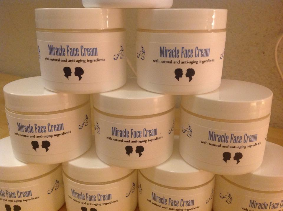 Miracle Face Cream tower