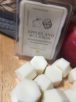 Apples and Bourbon Parasoy Wax Melt
