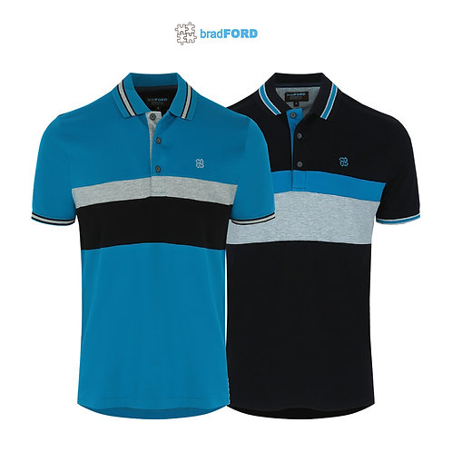 bradFORD Stripes Polo Shirt