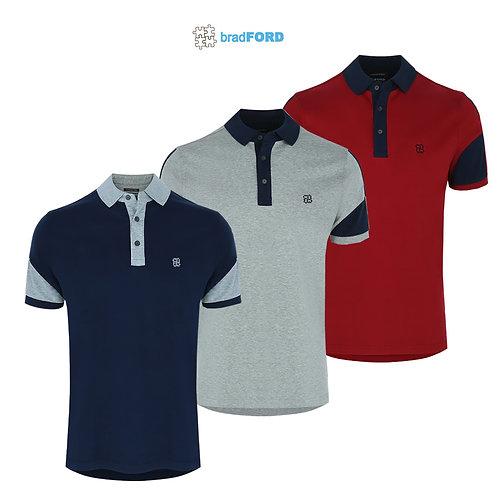 bradFORD Polo Shirt Interlock Fabric