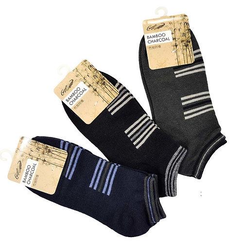 CROCODILE 3 pairs Bamboo Charcoal socks pack