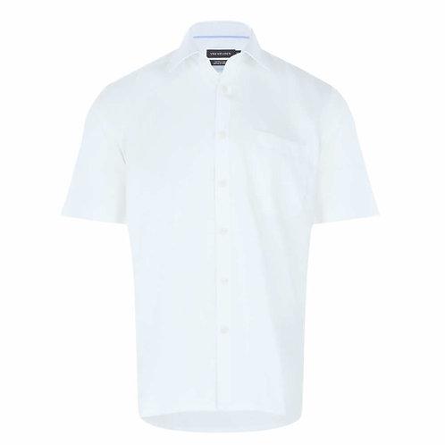 VAN HEUSEN Short Sleeve Wrinkle Free Shirt