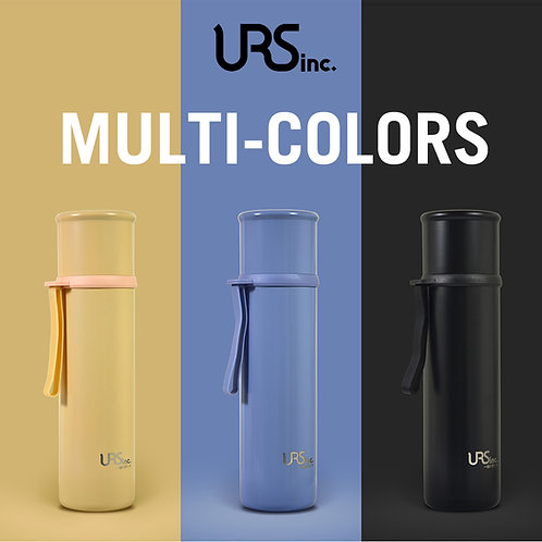 URS & inc Portable Vacuum Bottle 500ml