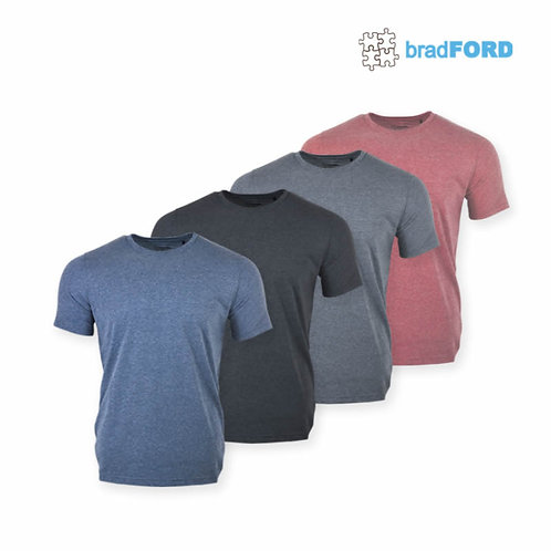bradFORD 100% Cotton Round Neck Tee