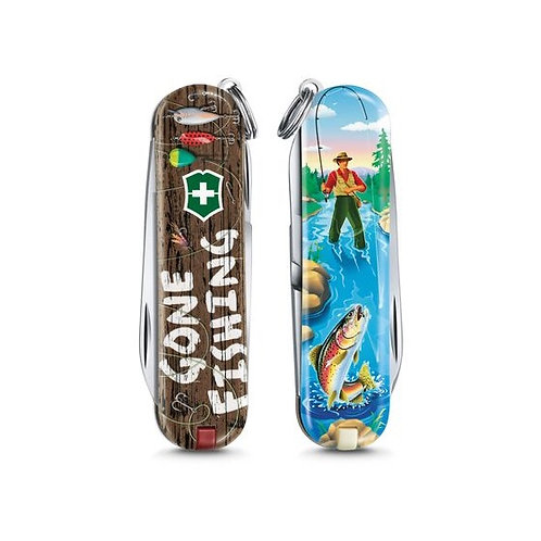 """VICTORINOX Classic Limited Edition 2020 """"Gone Fishing"""""""