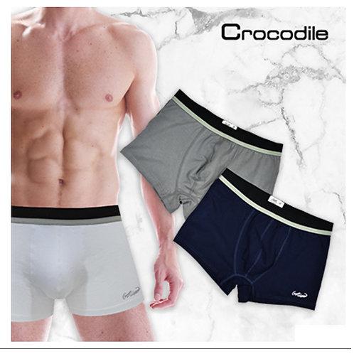 CROCODILE 2 pieces Men Trunk underwear