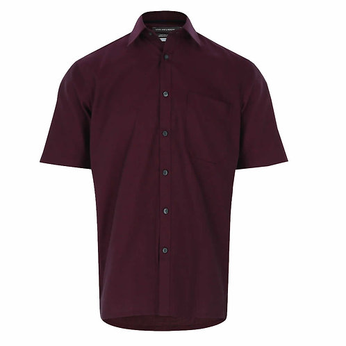 VAN HEUSEN Short Sleeve Wrinkle Free Shirt