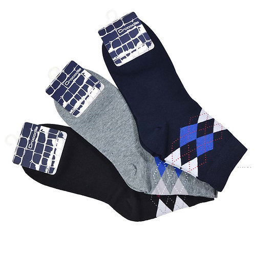 CROCODILE 3 pairs Cotton socks pack