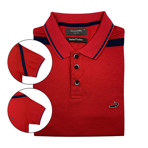 CROCODILE Slim Fit Polo Shirt