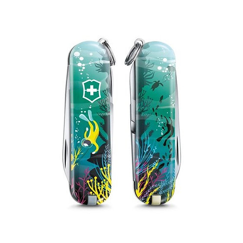 "VICTORINOX Classic Limited Edition 2020 ""Deep Dive"""