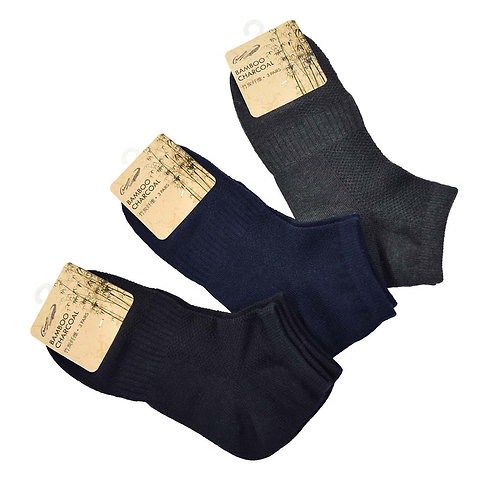 CROCODILE 3 pairs Bamboo Charcoal socks pack