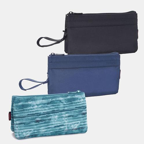 HEDGREN Follis FRANC XL 3 Zipper Pouch RFID