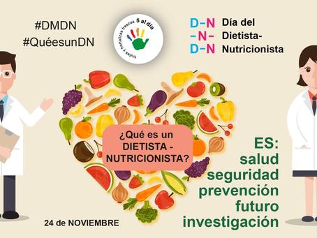24 de Noviembre Día Mundial del Dietista-Nutricionista