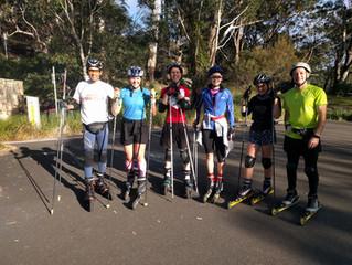 Saturday & Sunday biathlon training - Sydney - 4 June 2017
